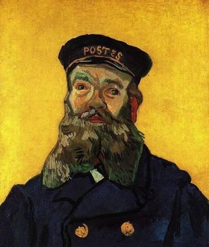 Vincent van Gogh - Portrait of the Postman Joseph Roulin 2