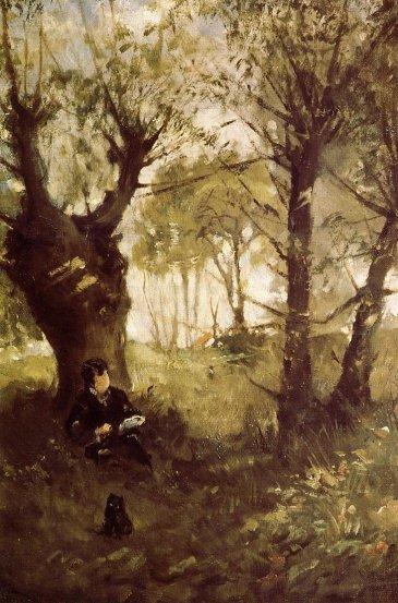 Berthe Morisot - Old Path at Auvers