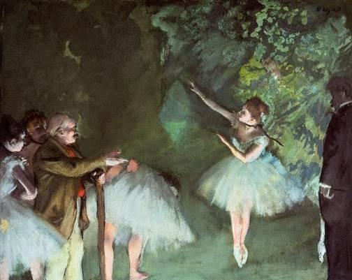 Edgar Degas - Ballet Rehearsal