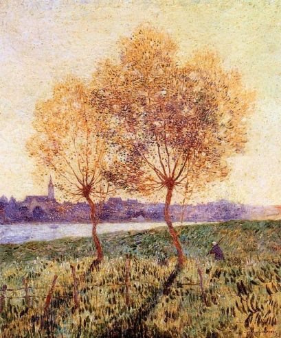 Ferdinand du Puigaudeau - The Banks of the Loire, Basse Indre