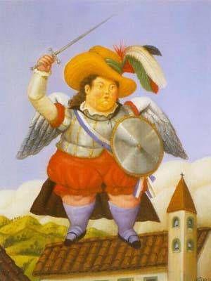 Fernando Botero - Archangel