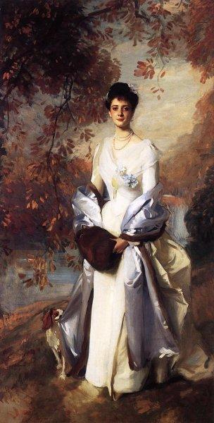 John Singer Sargent - Portrait Of Pauline Astor