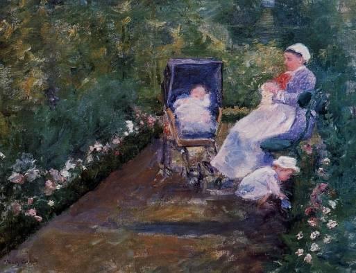Mary Cassatt - Children in a Garden