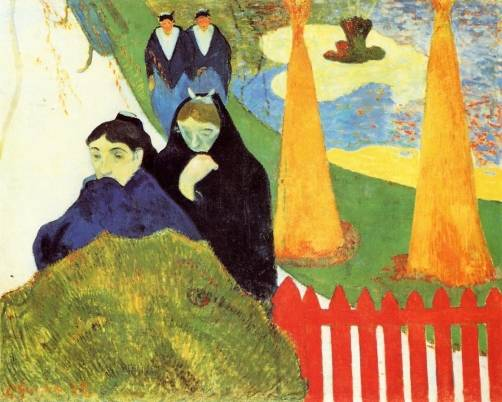 Paul Gauguin - Old Women at Arles