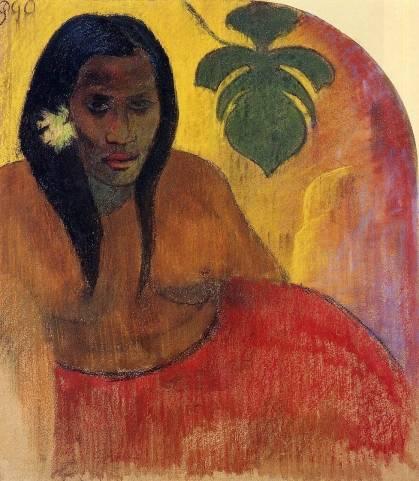 Paul Gauguin - Tahitian Woman