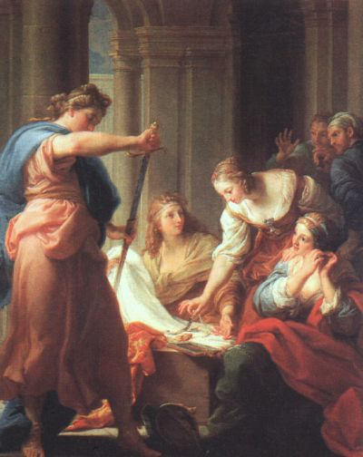 Pompeo Batoni - Achilles at the Court of Lycomedes