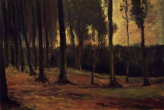 Vincent van Gogh - Edge of a Wood