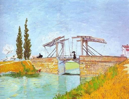 Vincent van Gogh - The Langlois Bridge at Arles 2