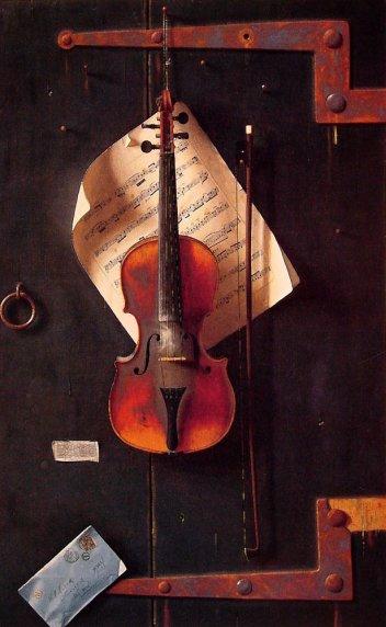 William Michael Harnett - The Old Violin