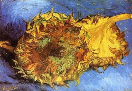 Vincent van Gogh - Two Cut Sunflowers 1