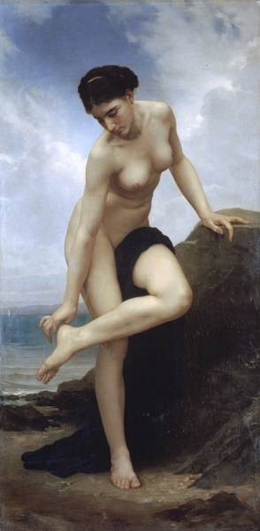 William Adolphe Bouguereau - After the Bath 1