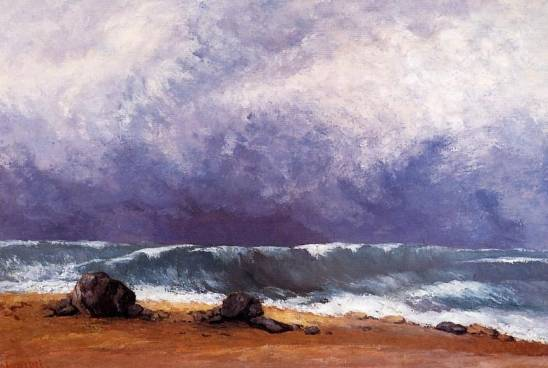 Gustave Courbet - The Wave 3
