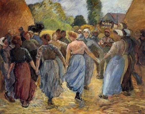 Camille Pissarro - La Ronde 1