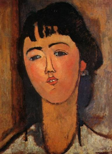 Amedeo Modigliani - Portrait of a Woman 2