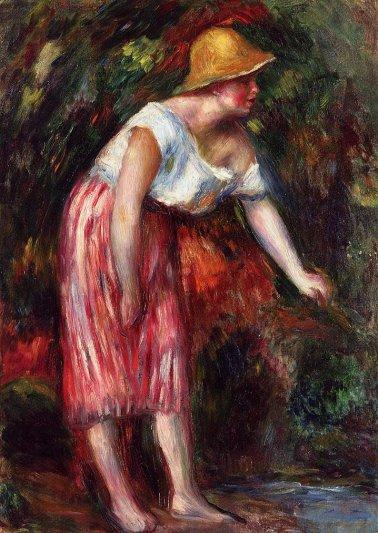 Pierre-Auguste Renoir - Woman in a Straw Hat03