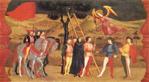 Paolo Uccello - Miracle Of The Desecrated Host Scene 4