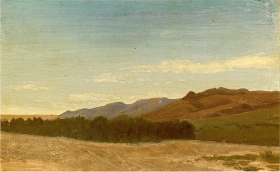 Albert Bierstadt - The Plains Near Fort Laramie