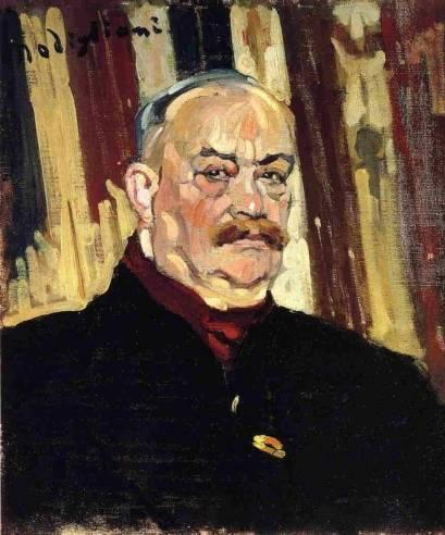 Amedeo Modigliani - Joseph Levi