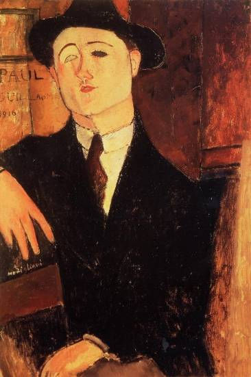 Amedeo Modigliani - Paul Guillaume 3