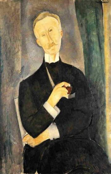 Amedeo Modigliani - Roger Dutilleul