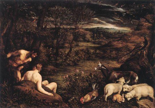 Bassano, Jacopo - Garden of Eden