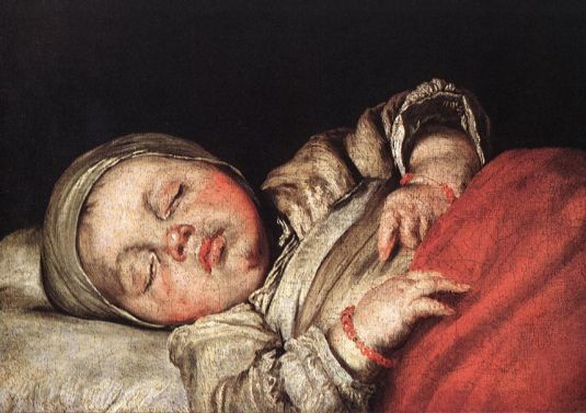 Bernardo Strozzi - Sleeping Child