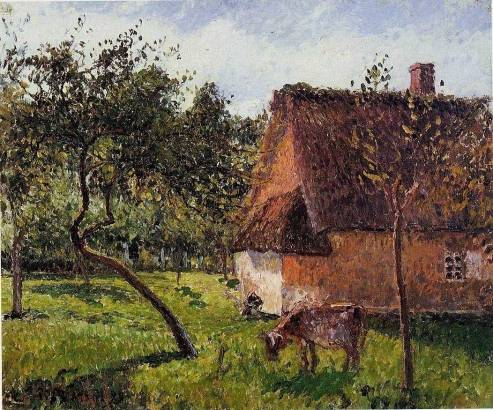 Camille Pissarro - A Field in Varengeville