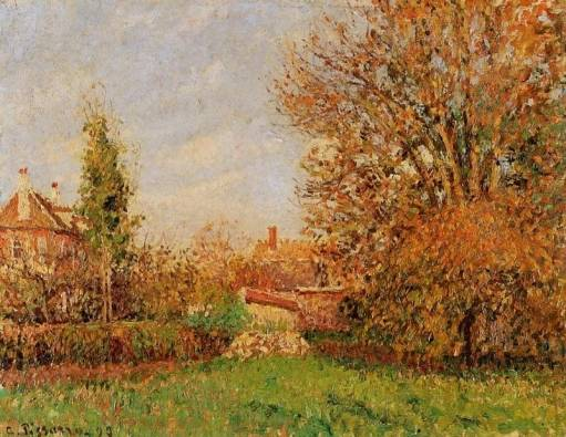 Camille Pissarro - Autunm in Eragny