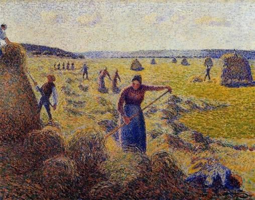 Camille Pissarro - Le Recolte des Foins a Eragny