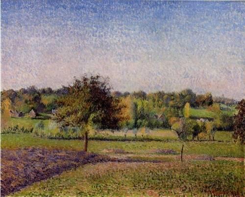 Camille Pissarro - Meadows at Eragny