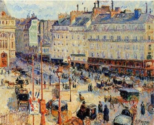 Camille Pissarro - Place du Havre, Paris