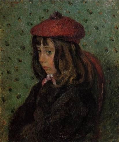 Camille Pissarro - Portrait of Felix Pissarro