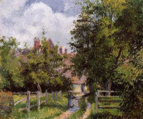 Camille Pissarro - Saint-Martin, near Gisors