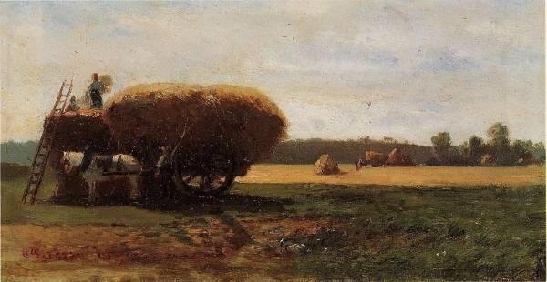 Camille Pissarro - The Harvest 1