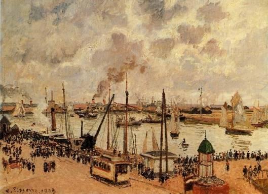 Camille Pissarro - The Port of Le Havre 1