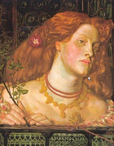 Dante Gabriel Rossetti - Fair Rosamund