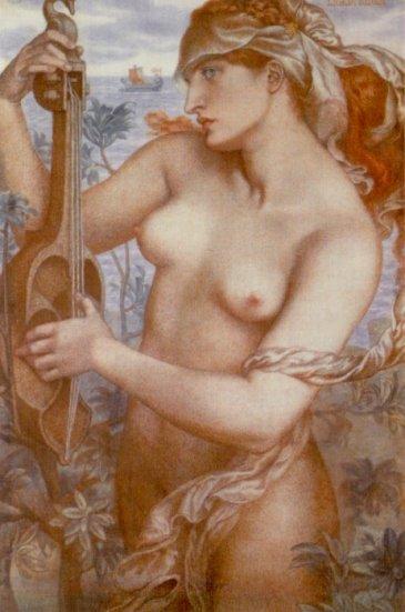 Dante Gabriel Rossetti - Ligeia Siren