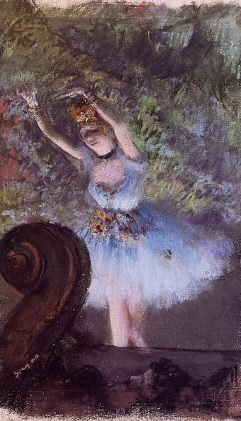 Edgar Degas - Dancer 2