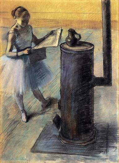 Edgar Degas - Dancer Resting