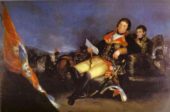 Francisco Goya - Manuel Godoy, Duke of Alcudia