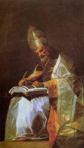 Francisco Goya - St. Gregory