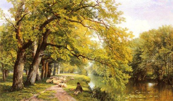 Frederick William Hulme - At Ockman, Surrey In Summer