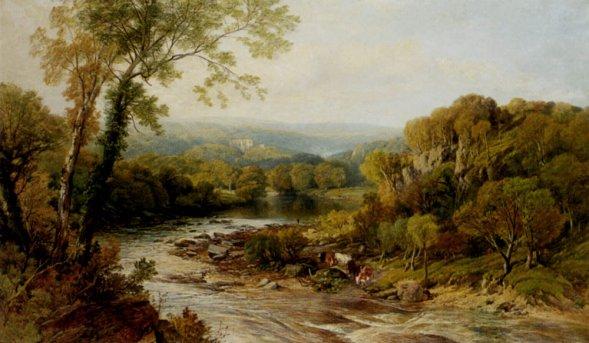 Frederick William Hulme - Barden Tower Onj The Wharfe Yorkshire