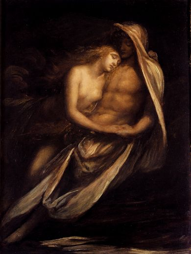 George Frederick Watts - Paulo And Francesca
