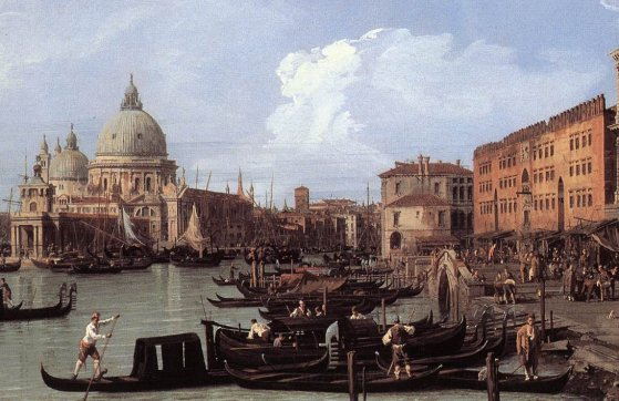 Giovanni Antonio Canal Canaletto - The Molo Looking West Detail