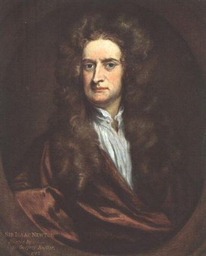 Godfrey Kneller - Isaac Newton
