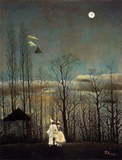 Henri Rousseau - A Carnival Evening