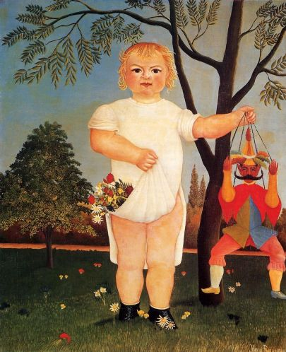 Henri Rousseau - Child with Puppet