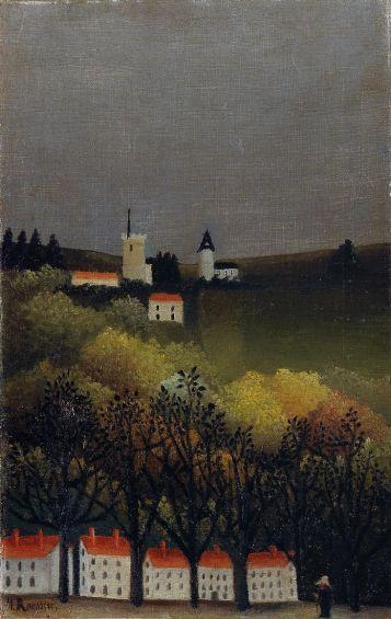 Henri Rousseau - Landscape