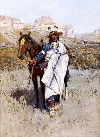Henry F. Farney - Indian Scout